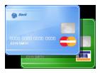Description of credit/debit cards, how to get money via Visa/MasterCard